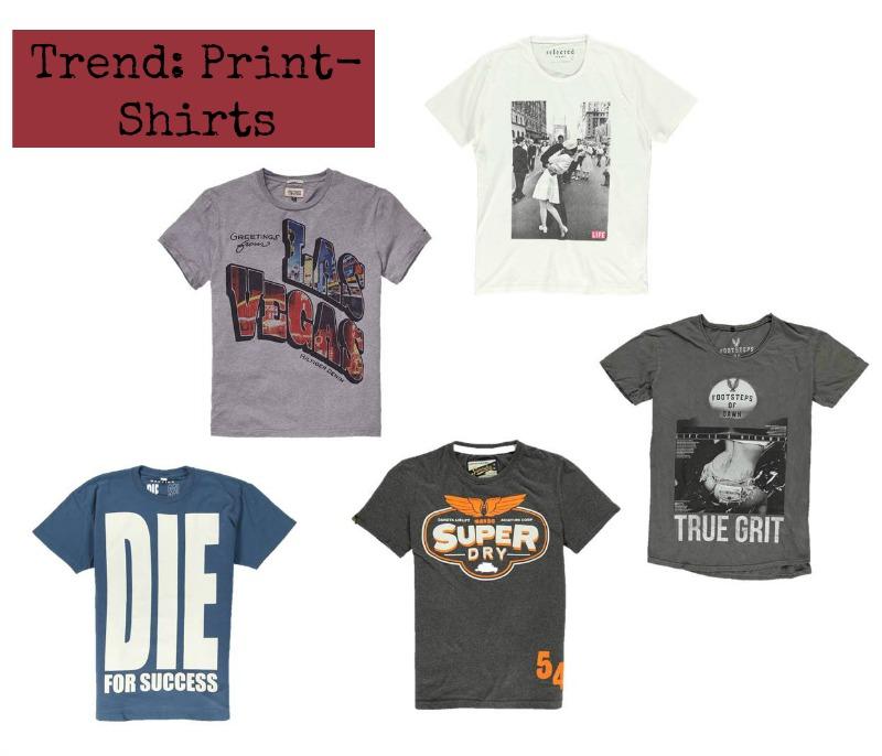 Trendy Shirts mit Print