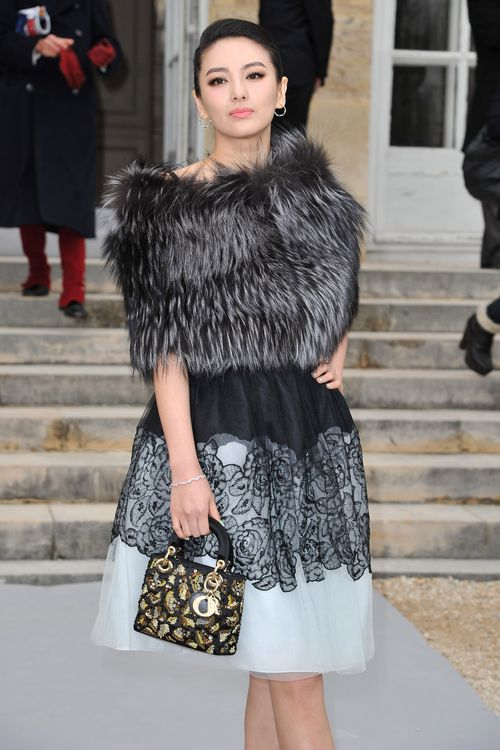 Christian Dior: Garden Arrivals - Paris Fashion Week Womenswear Fall/Winter 2012 (Getty Images/Christian Dior: Runway - Paris Fashion Week Womenswear Fall/Winter 2012 (Bild: Getty Images/Pascal Le Segretain))