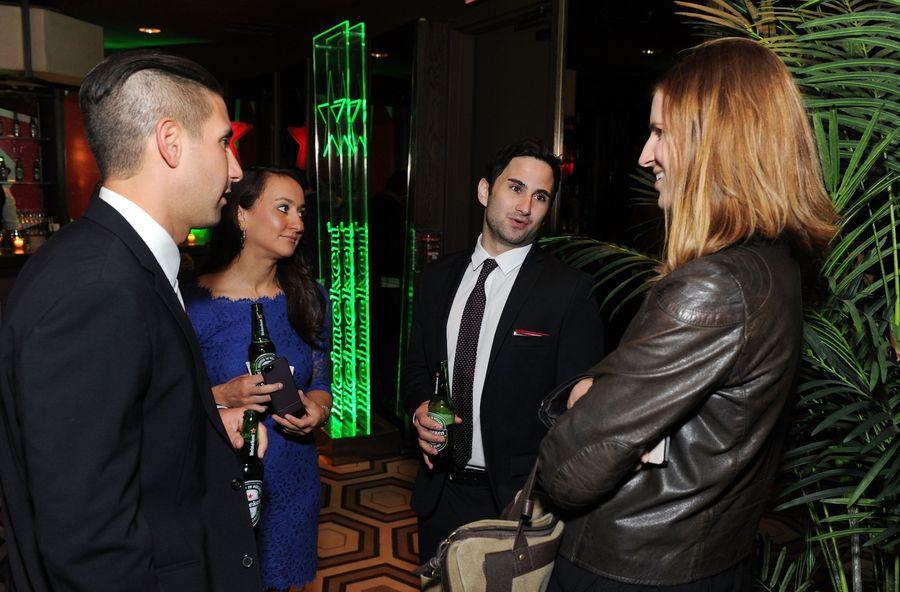 Heineken #15SecondPremiere Cocktails And Viewing (Bild: Getty Images for Heineken)