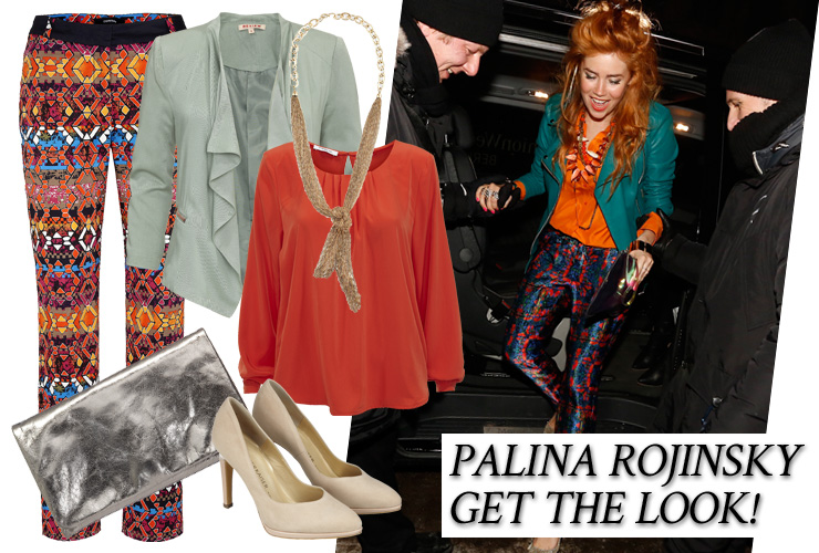 Palinas Outfit (Bild: Mercedes-Benz Fashion)