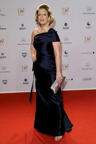 Barbara Schöneberger In Talbot Runhof Bild Getty Images Fashion