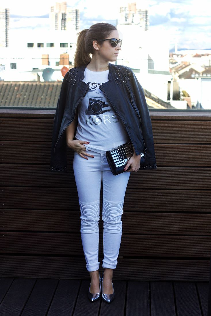 OOTD: Elli in Black and White