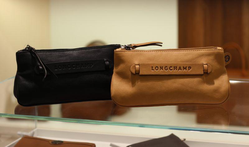 Longchamp Kosmetiktasche Leder