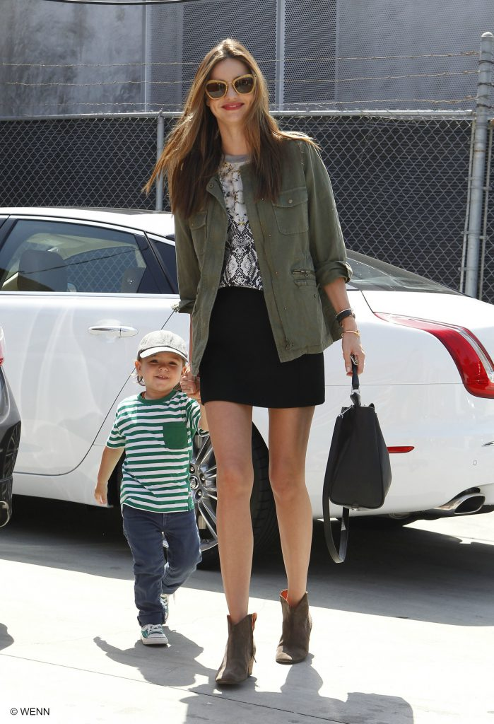 Miranda Kerr out and about with her son Flynn Bloom in West Hollywood Featuring: Miranda Kerr,Flynn Bloom Where: Los Angeles, California, United States When: 12 Apr 2013 Credit: WENN.com