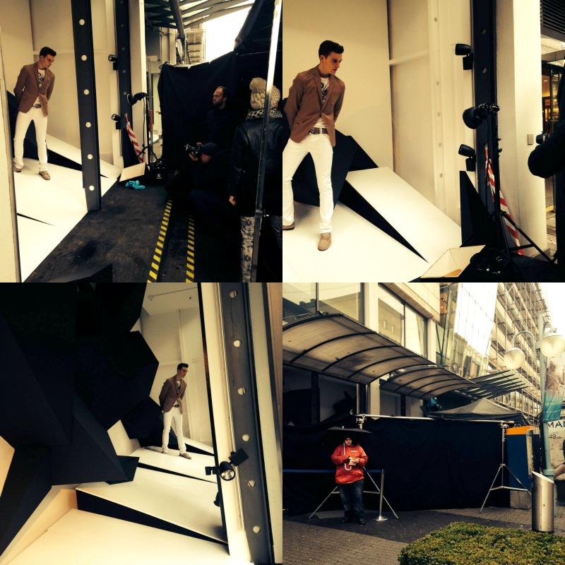 On Top Modestrecke Shooting im engelhorn Modehaus in Mannheim