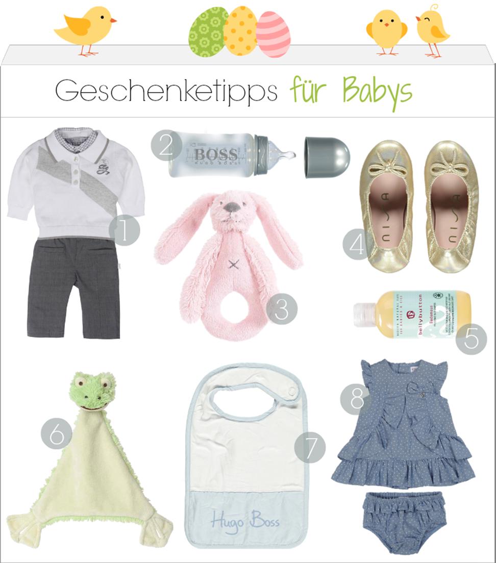 Baby-Geschenke für Ostern
