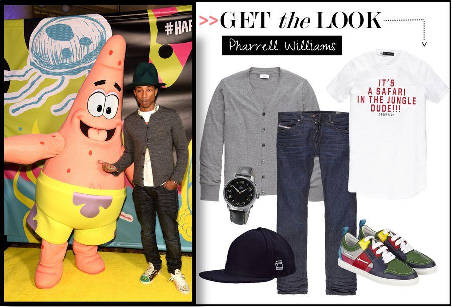 Get the Pharrell Williams Look