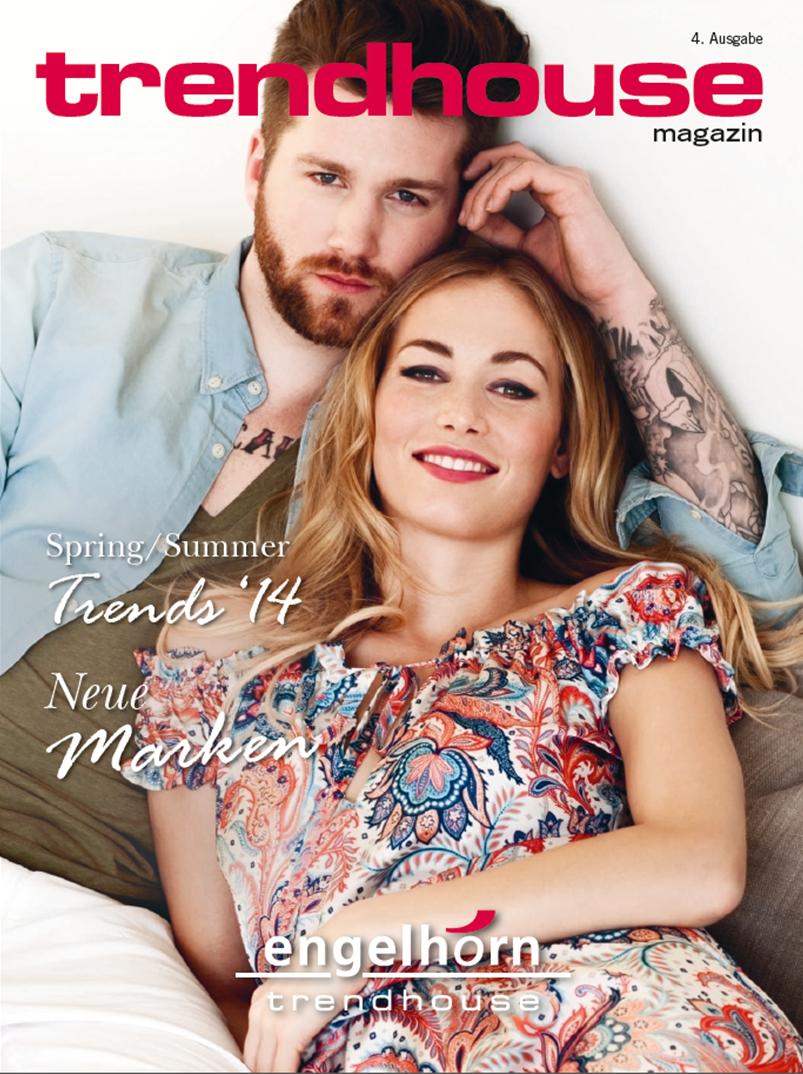 Titelseite trendhouse magazin