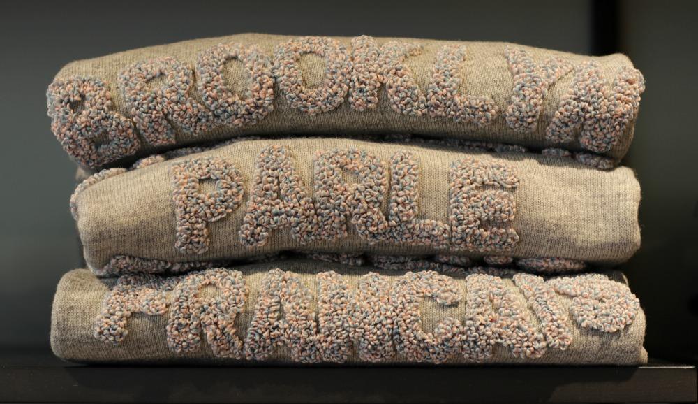 Sweater vom französischen Label Brooklyn We Go Hard