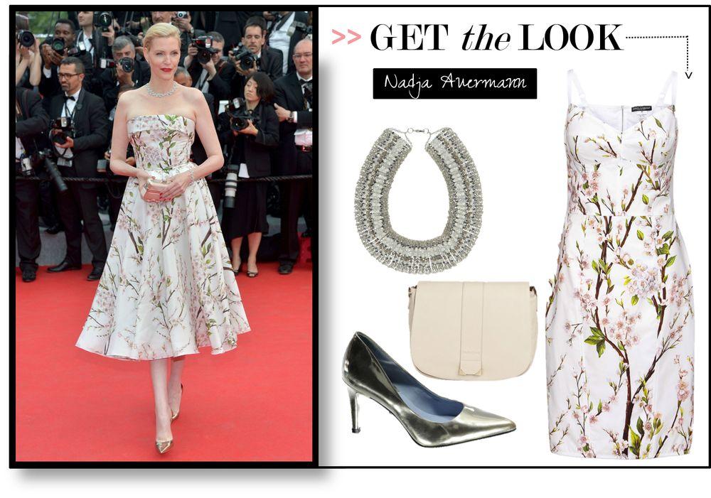 Nadja Auermann in Dolce & Gabbana_ Getty Images