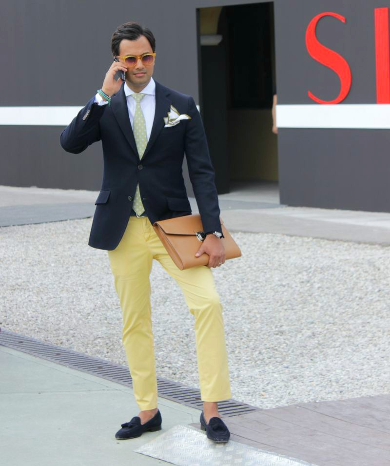 Italian Gentleman at Pitti Uomo 86