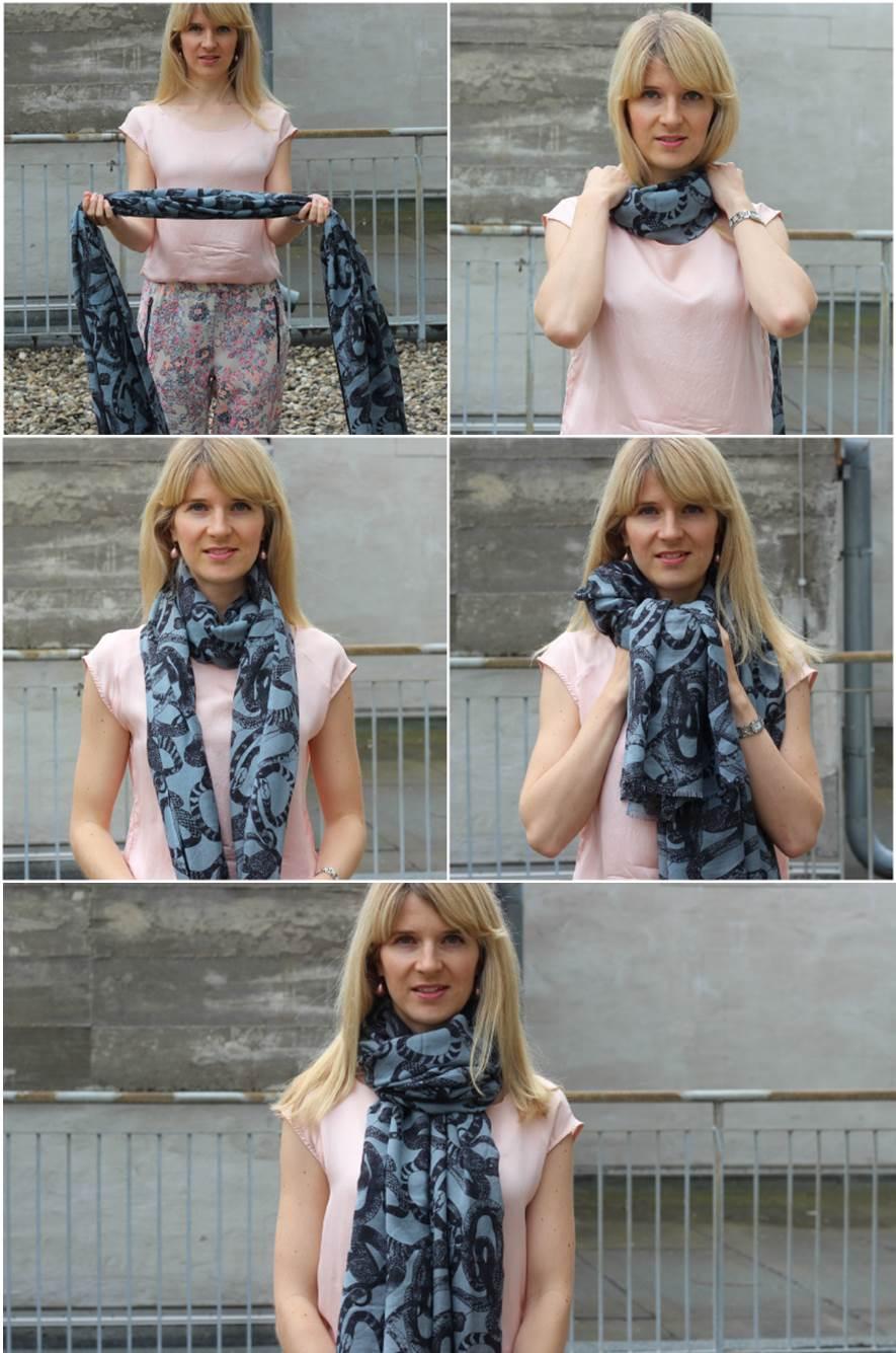 Tücher und Schals binden: Die Krawatte