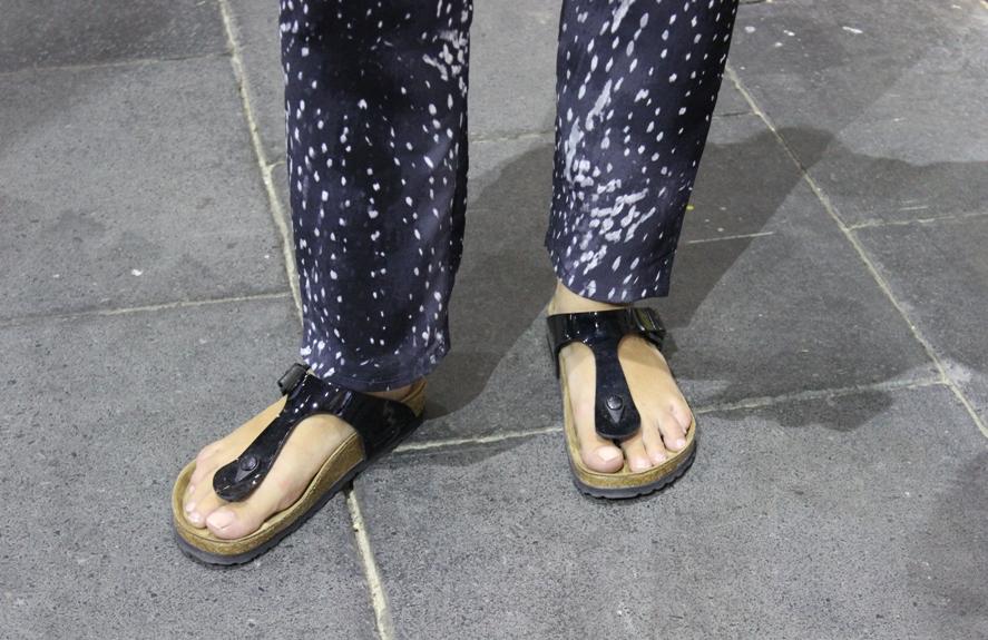 Birkenstock Sandale Gizeh auf der Premium