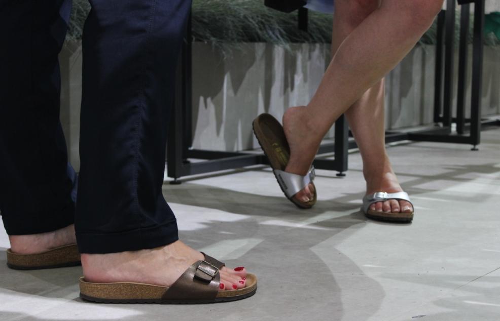 Birkenstock Sandalen auf der Premium