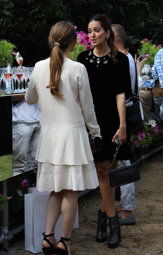 Johanna Klum bei Dorothee Schumacher