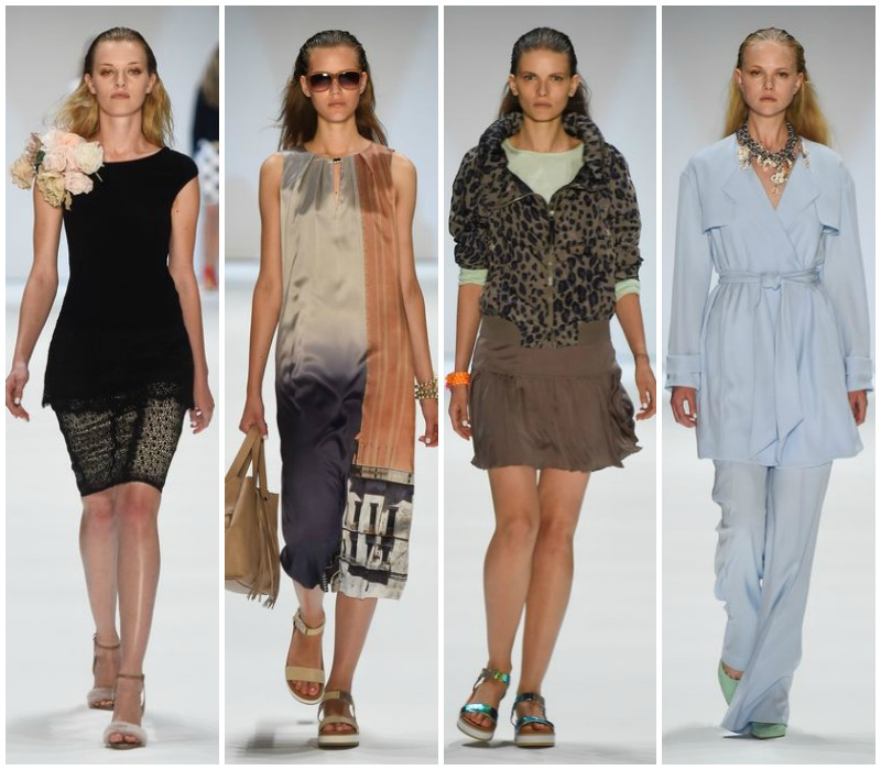 Marc Cain Spring Summer 2015 (Bilder: Mercedes-Benz Fashion)