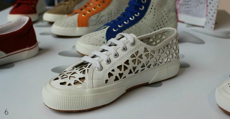 Superga Sneaker mit Cut-Outs