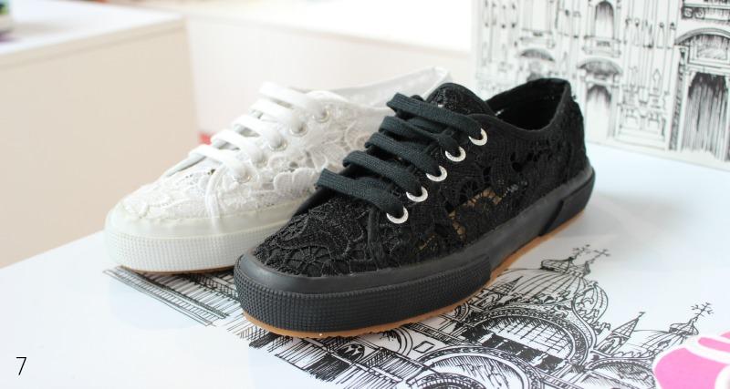 Superga Sneaker mit Spitze