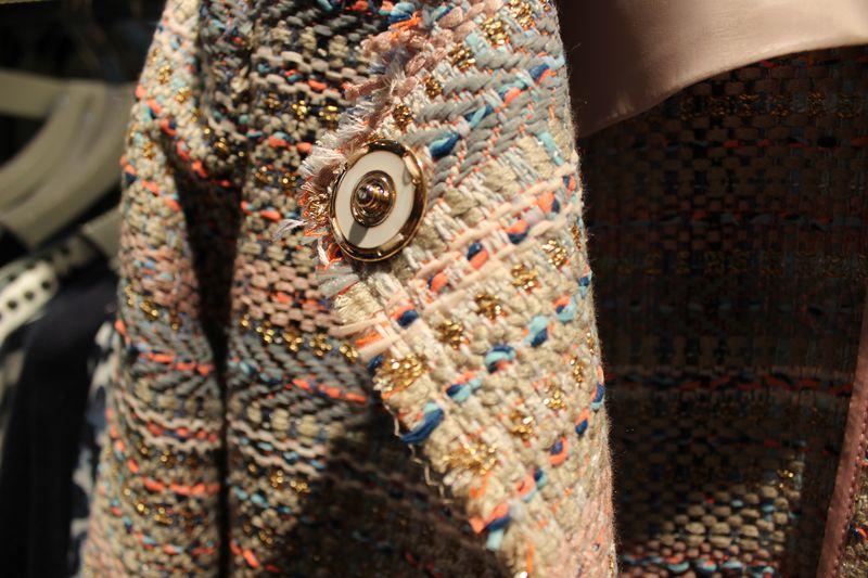 rich&royal Blazer Detail Goldknopf
