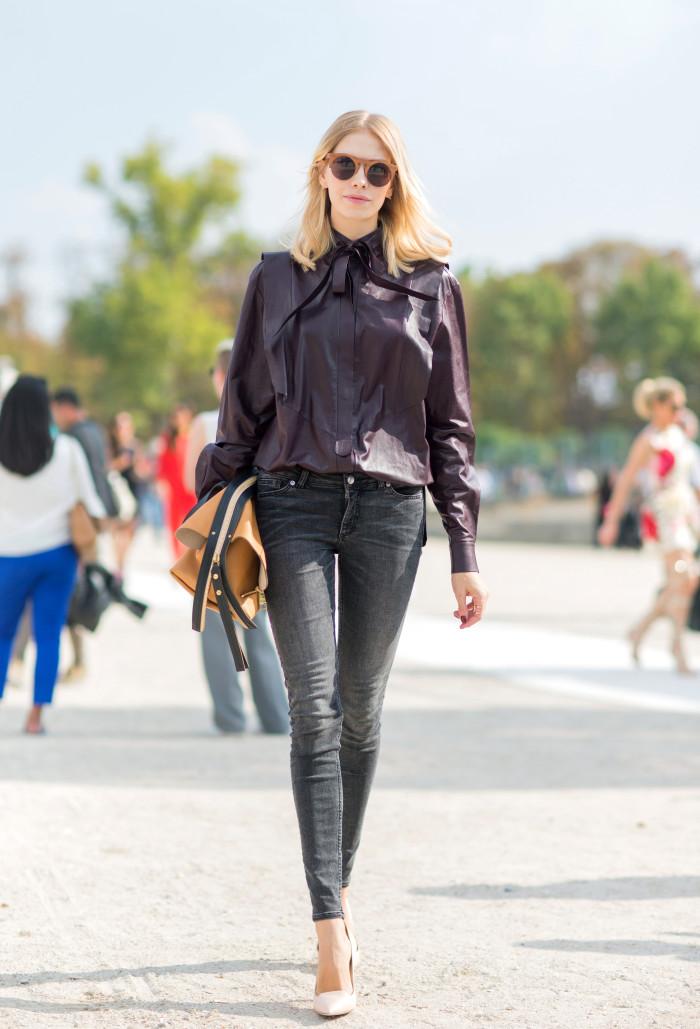 Paris Fashion Week - Spring/Summer 2015 - Streetstyle
