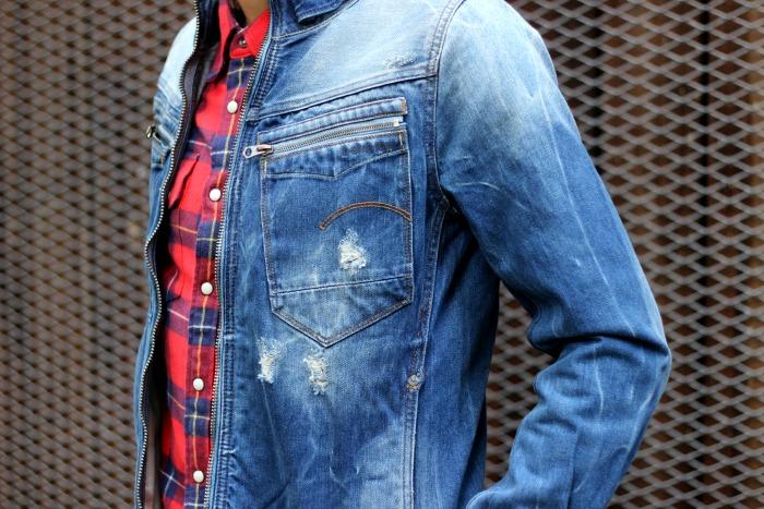 G-Star Jeansjacke Tasche