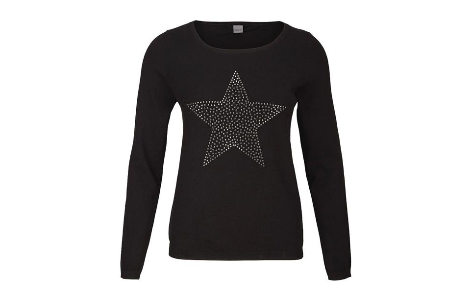 Sir Oliver Strickpullover mit Sternen