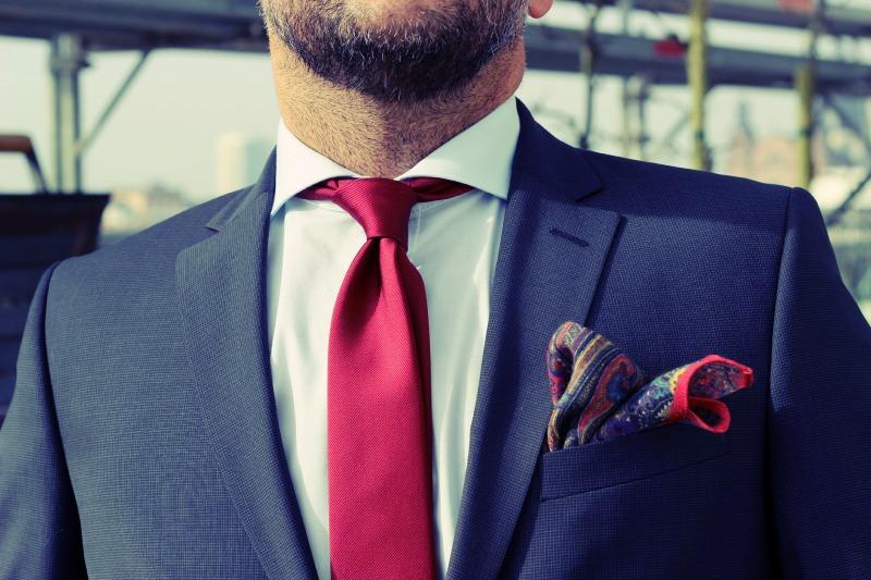 Krawatte & Einstecktuch