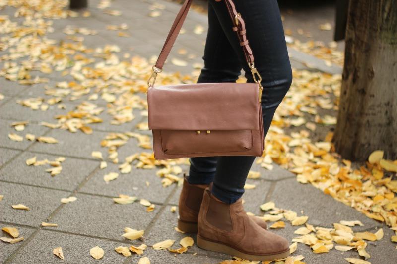 Schuhe und Tasche