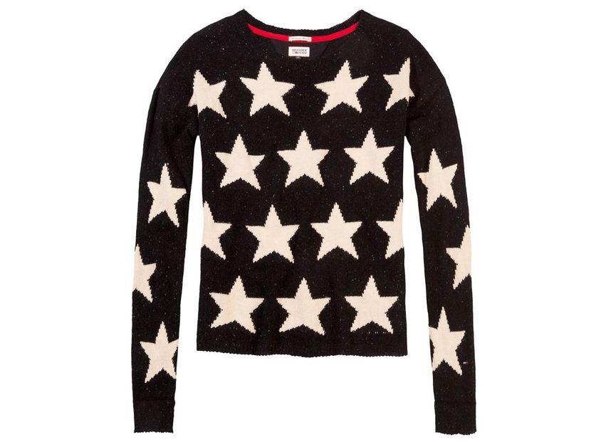 Tommy Hilfiger Wollpullover mit Sternen