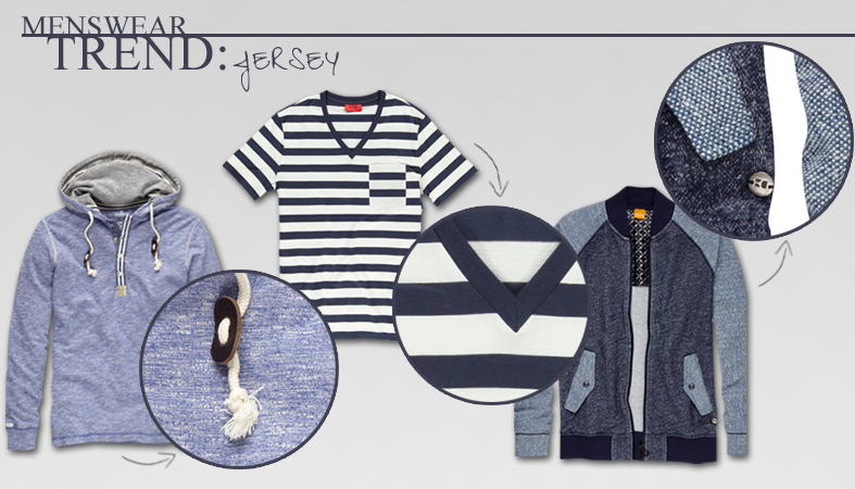 Menswear Fashion Trend 2014: Jerseys und Pullover