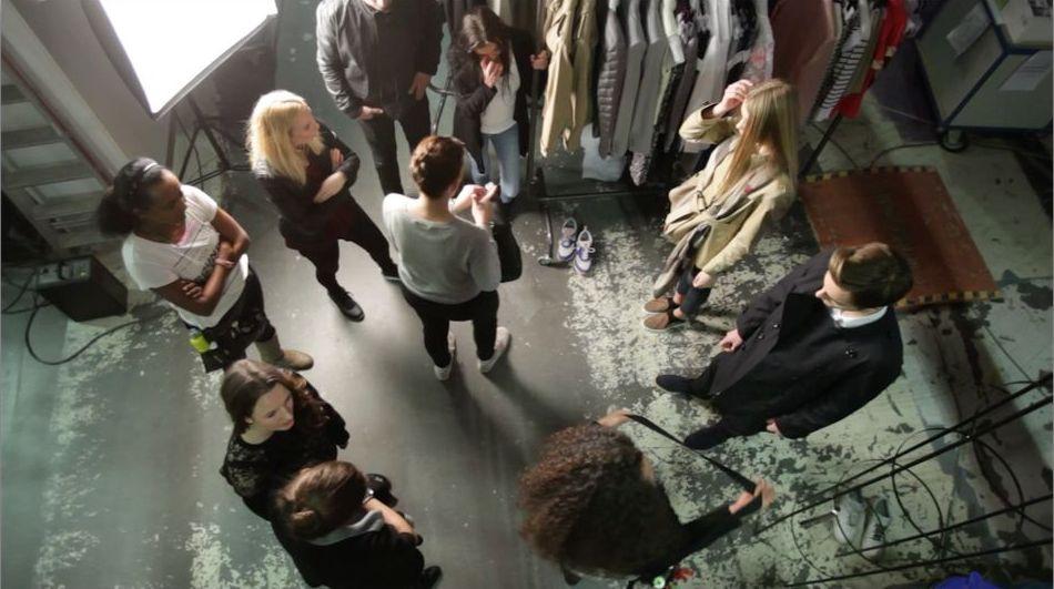 Behind the scenes Luxury Shooting