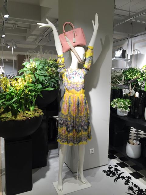Frühling im Modehaus