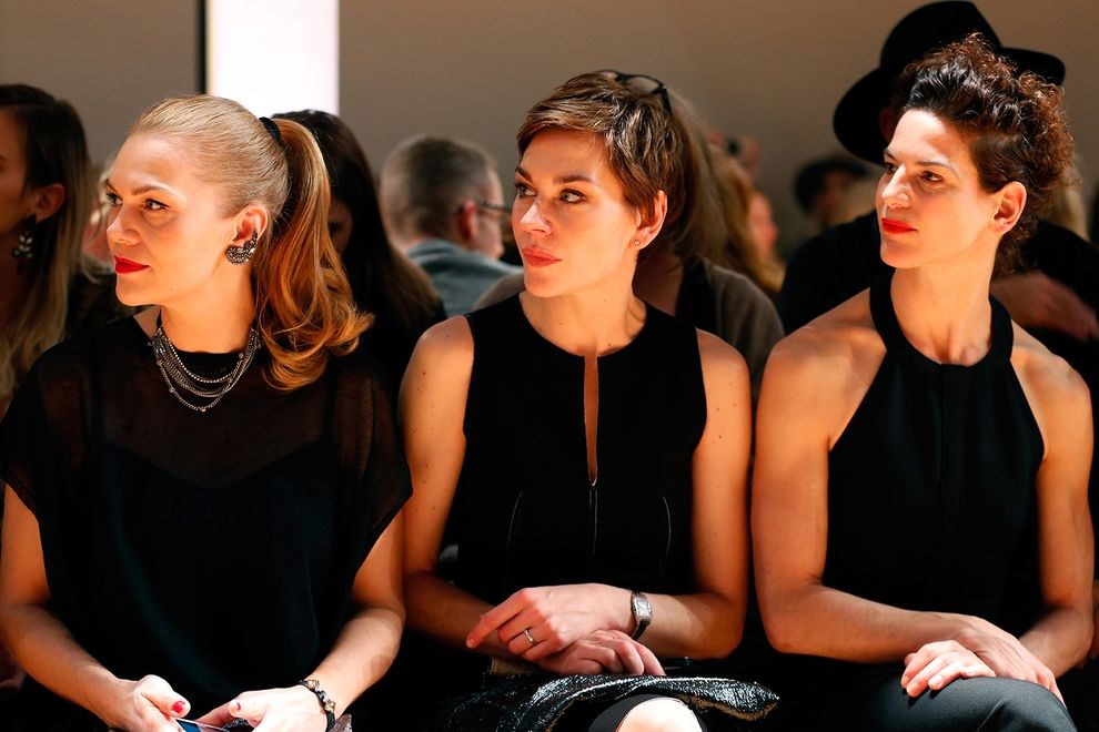 Schumacher Arrivals - Mercedes-Benz Fashion Week Berlin Autumn/Winter 2015/16