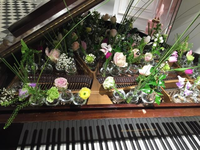 Blümchen im Piano