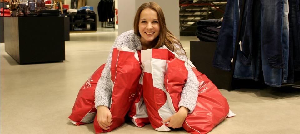 Das große Speed Shopping im trendhouse mit Gewinnerin Alice
