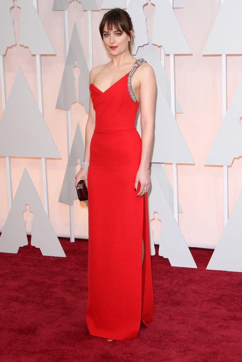 87th Annual Oscars Red Carpet Arrivals_Dakota Johnson