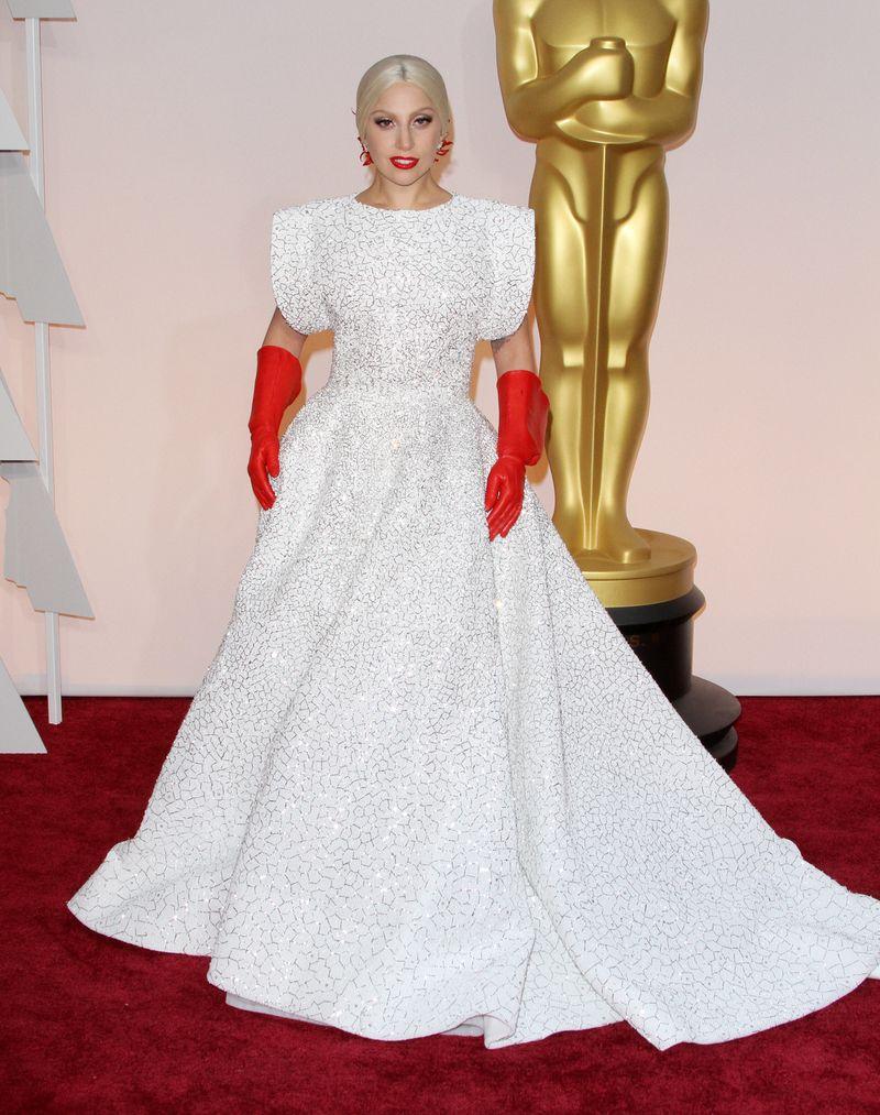 87th Annual Oscars Red Carpet Arrivals_Lady Gaga