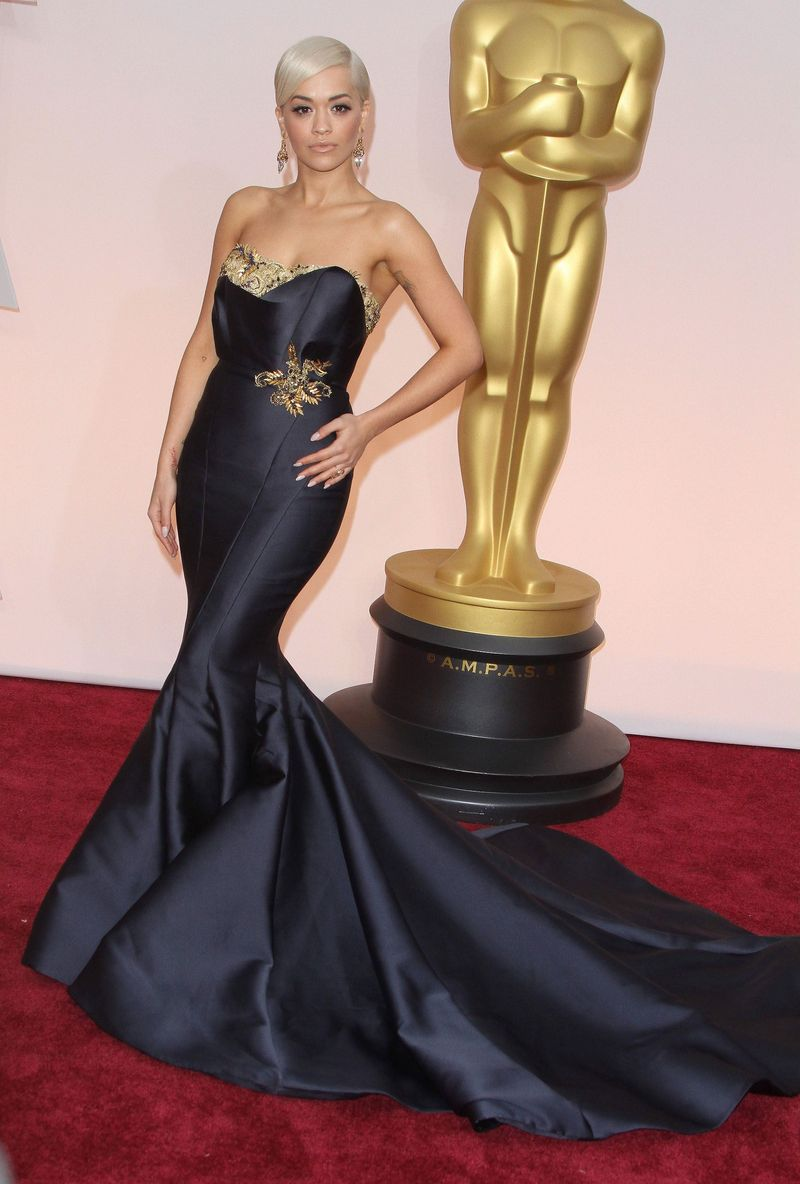 The 87th Annual Oscars - Red Carpet Arrivals_Rita Ora
