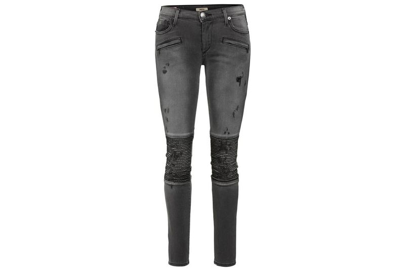True Religion_Graue Jeans Biker