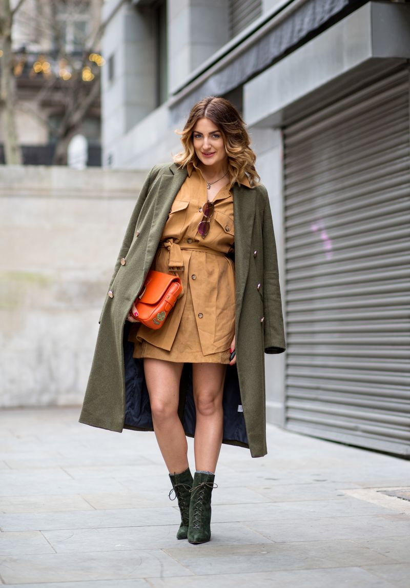EXCLUSIVE LFW a/w 2015 - Streetstyle