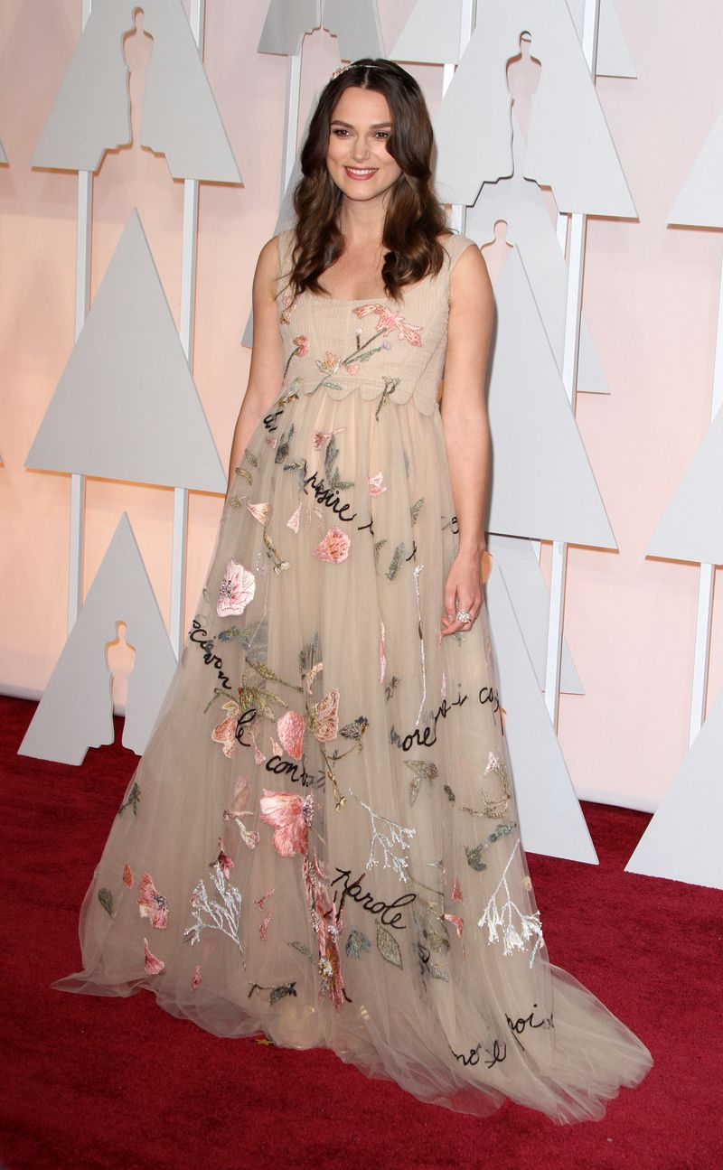 The 87th Annual Oscars - Red Carpet Arrivals_Keira Knightley