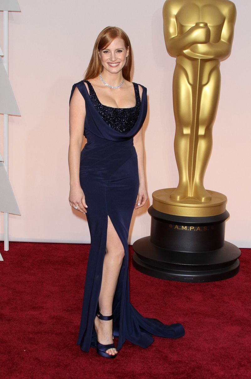 87th Annual Oscars Red Carpet Arrivals_Jessica Chastain