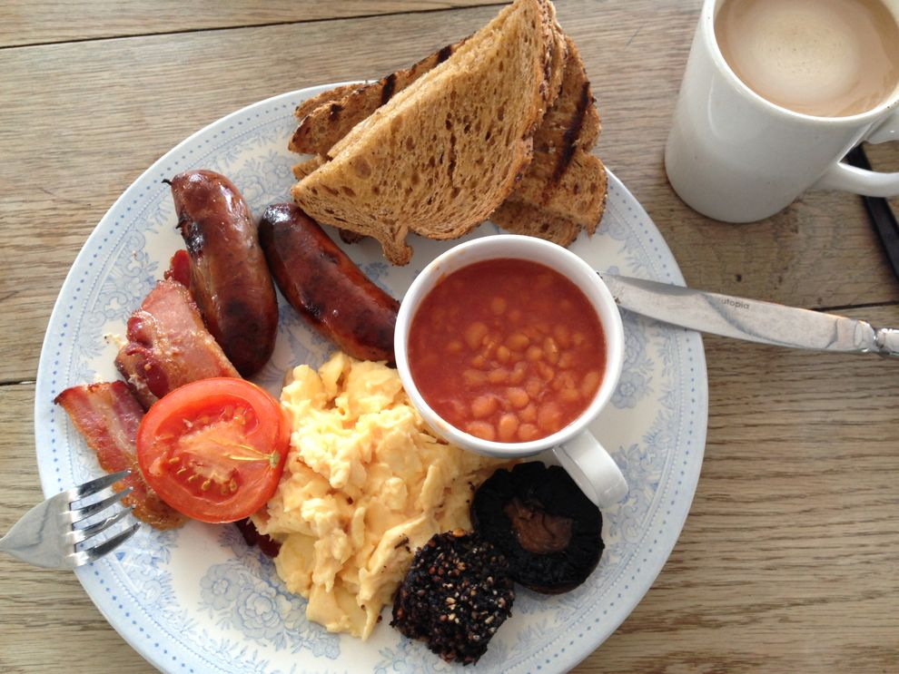 English Breakfast Serpentine Bar London