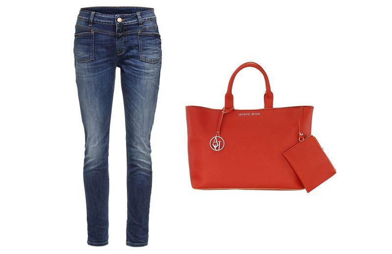 Grafik_Closed Jeans_Armani Jeans Tasche