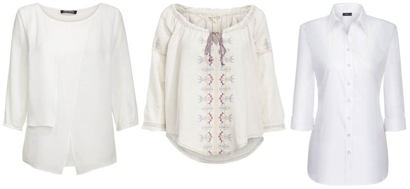 All White_Bluse Betty Barclay_Review_Eterna_Tunika