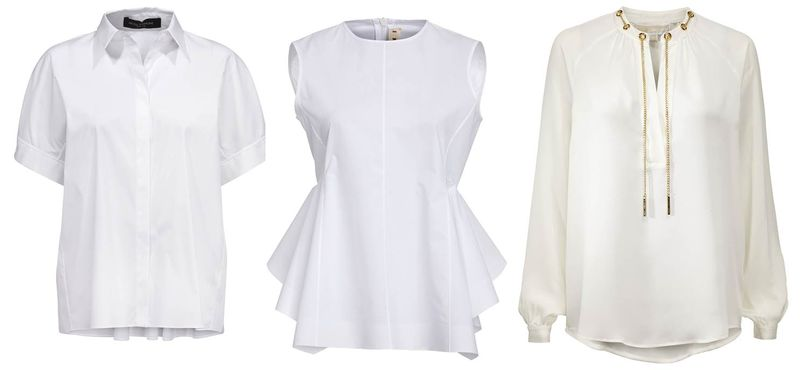 All White_Bluse Piazza Sempione Marni_Tunika Michael Kors