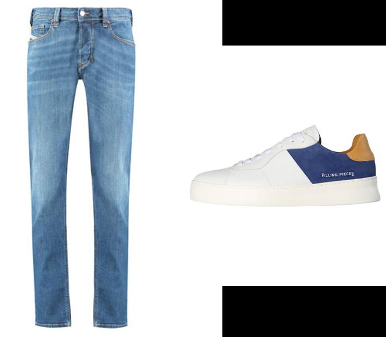 Jeans, Sneaker