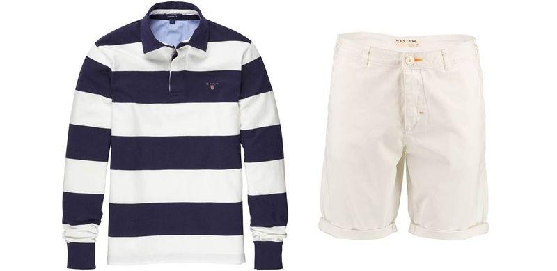Gant Langarmshirt_Review Shorts