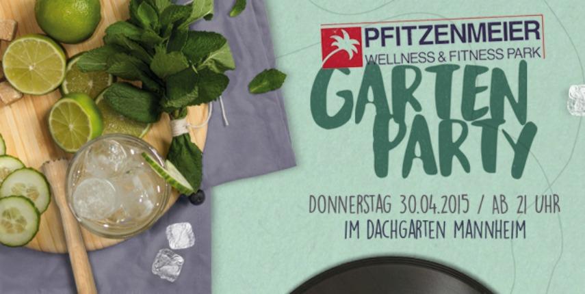 Tanz in den Mai: Gartenparty im Dachgarten