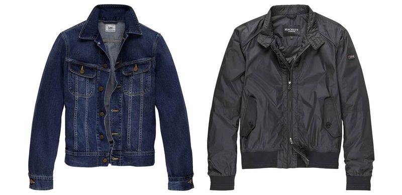 Lee Jeansjacke_Hackett London Jacke